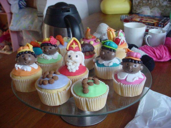 Sinterklaas cupcakes 15