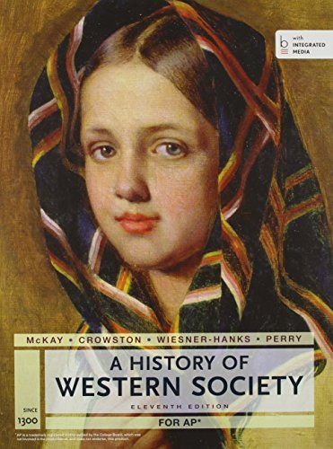 A history of western society homework
