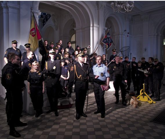 Grzegorz Drozd, Municipal Guard, 2009 lambda photograph, 100x120