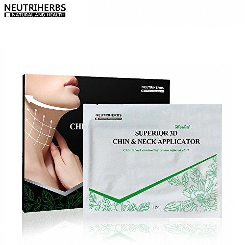 Neutriherbs Double Chin Remover VShaped Face Builder Weight Loss Cream Neck  Chin Mask 5 pcspack *** Check out this great product.