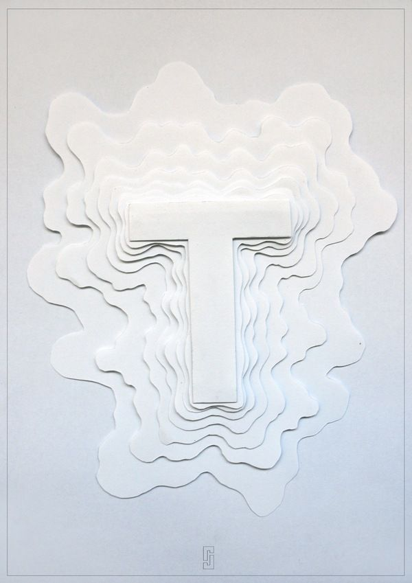 Amplifying The Typography Experience, Y by Junjie Lim, via Behance