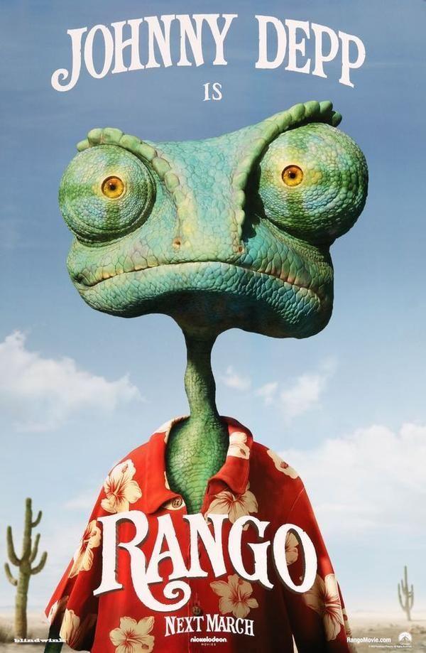 Rango 2011 Rango Movie Johnny Depp Movies Rango Full Movie