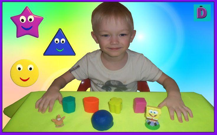 Спайнч Губка Боб и его друзья сюрприз   Sponge Bob surprise тесто Play Doh