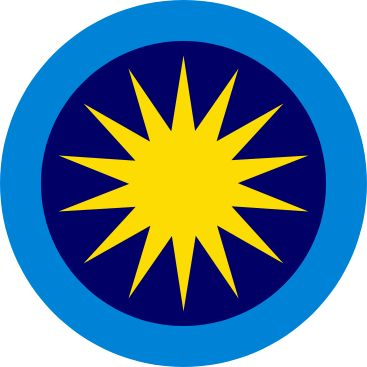 Roundel of the Royal Malaysian Air Force.
