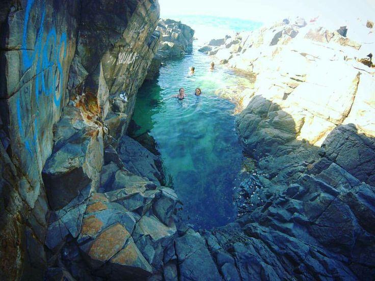 Fairy pools, Noosa Heads. Queensland, Australia
