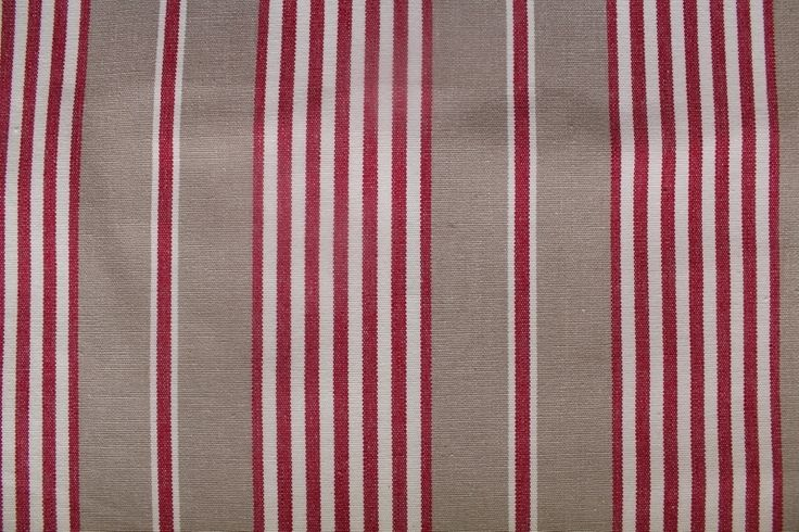 London Stripe Red