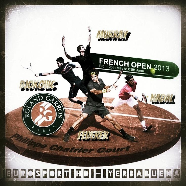 Da domenica 26 maggio 2013 tutti i giorni appuntamento con il Roland Garros allo Yerba!