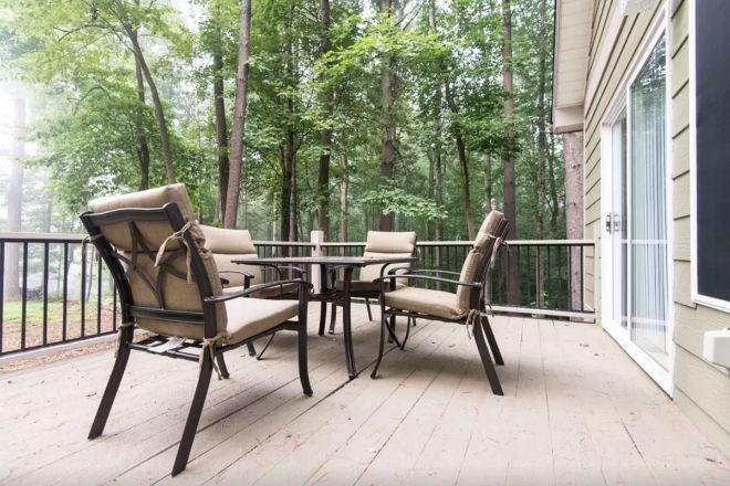 Casa diminuta en un bosque, en alquiler en Asheville, Carolina del Norte