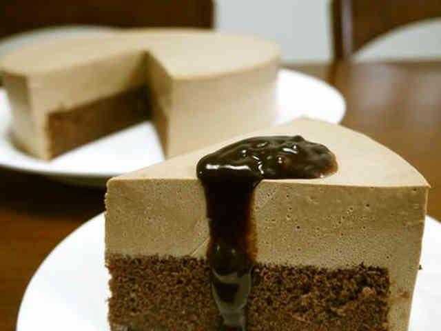 絶品!チョコレートムースケーキ♪の画像