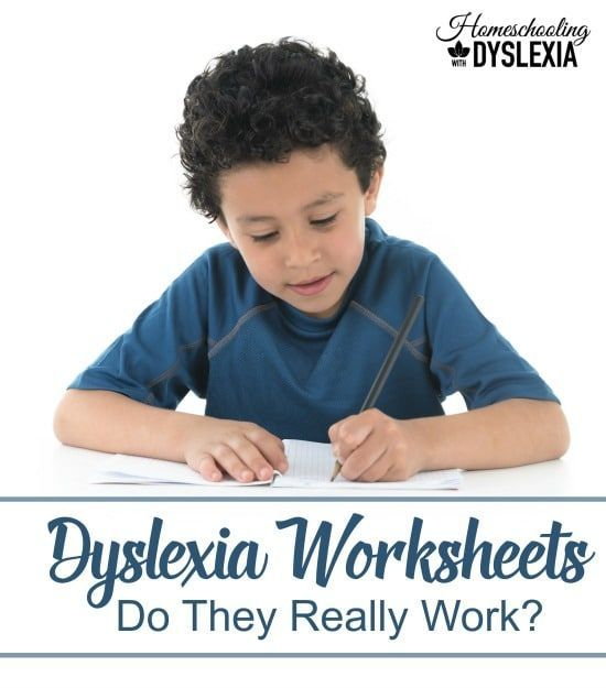 Do Dyslexia Worksheets Really Work? Plus a list of our favorites!