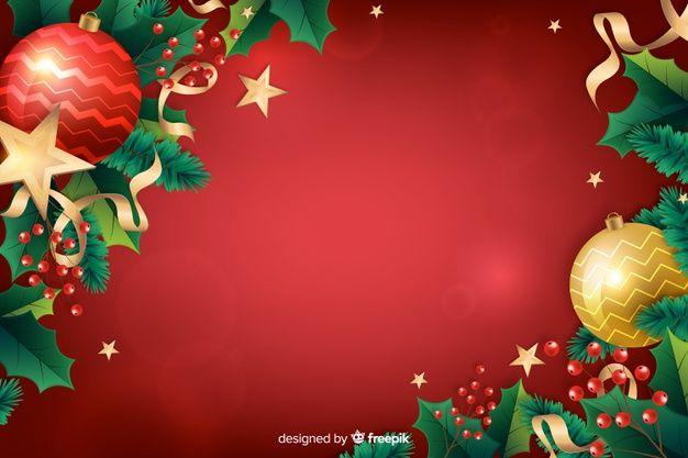 Download Realistic Christmas Red Festive Background For Free Red Christmas Merry Christmas And Happy New Year Christmas Background