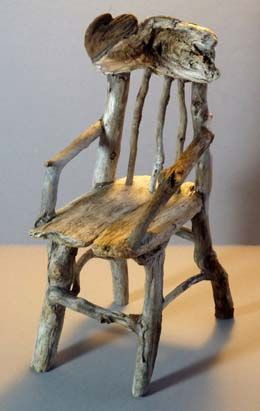 An Amazing Little Twig Chair <3 which I adore!                                                                                                                                                      More