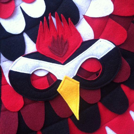 Sistema del traje del pájaro carpintero alas y por TreeAndVine                                                                                                                                                                                 Más