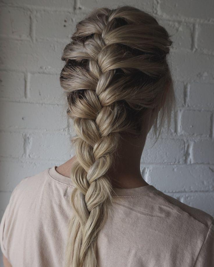Beige blonde with a root fade #blondehair #braid #theblacksheepsalon