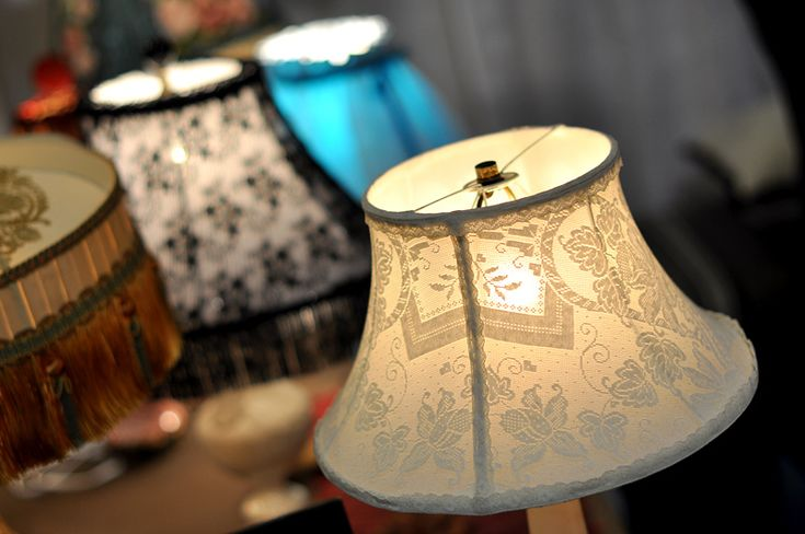 Recycled lamp shades - Visit the Creativ Festival with Maple Leaf Tours