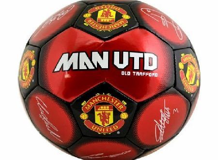 Manchester United F.C. New Official Football Team Size 5 Signature Footballs (Man Utd FC) Brand New Official Football Team Club Shop Merchandise (Barcode EAN = 5055639206588). http://www.comparestoreprices.co.uk/football-equipment/manchester-united-f-c-new-official-football-team-size-5-signature-footballs-man-utd-fc-.asp