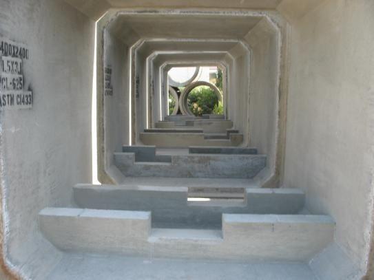 Concrete Baffle Wall Design : Best images about tuyaux de b?ton on