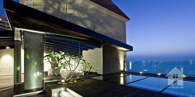 Sea Facing Penthouse in Mumbai by Abraham John Architects   HM-decor