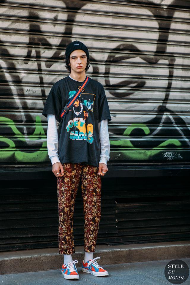 Paris Men S Fashion Week Ss 2019 Street Style Rubens Guez Street
