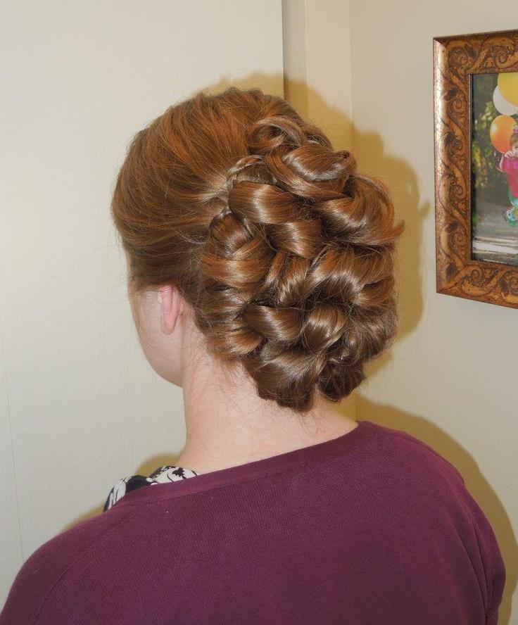 Formal hair, wedding updo...