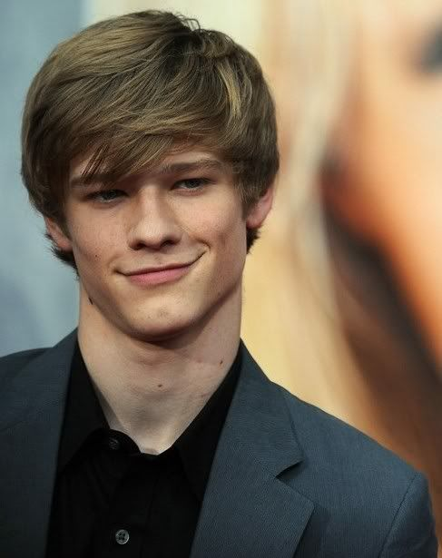 "Lucas Till. just look at that face! he's like ""Hmmm, she's the one..."""