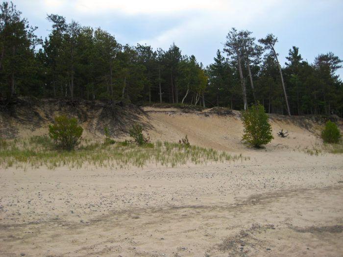 5. Twelvemile Beach Campground (Alger Co. Rd H-58, Grand Marais)