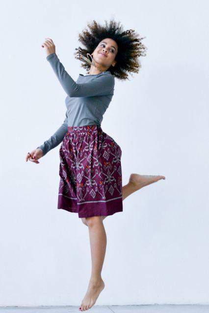 Spódnica Bombka Tidore  | www.kokoworld.pl #kokoworld #handmade #skirt #batik #fashion
