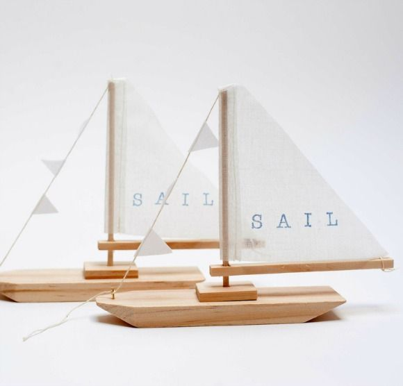 Wooden Sailboats by Pi'lo