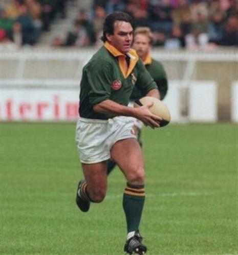 Springbok Rugby: Danie Gerber