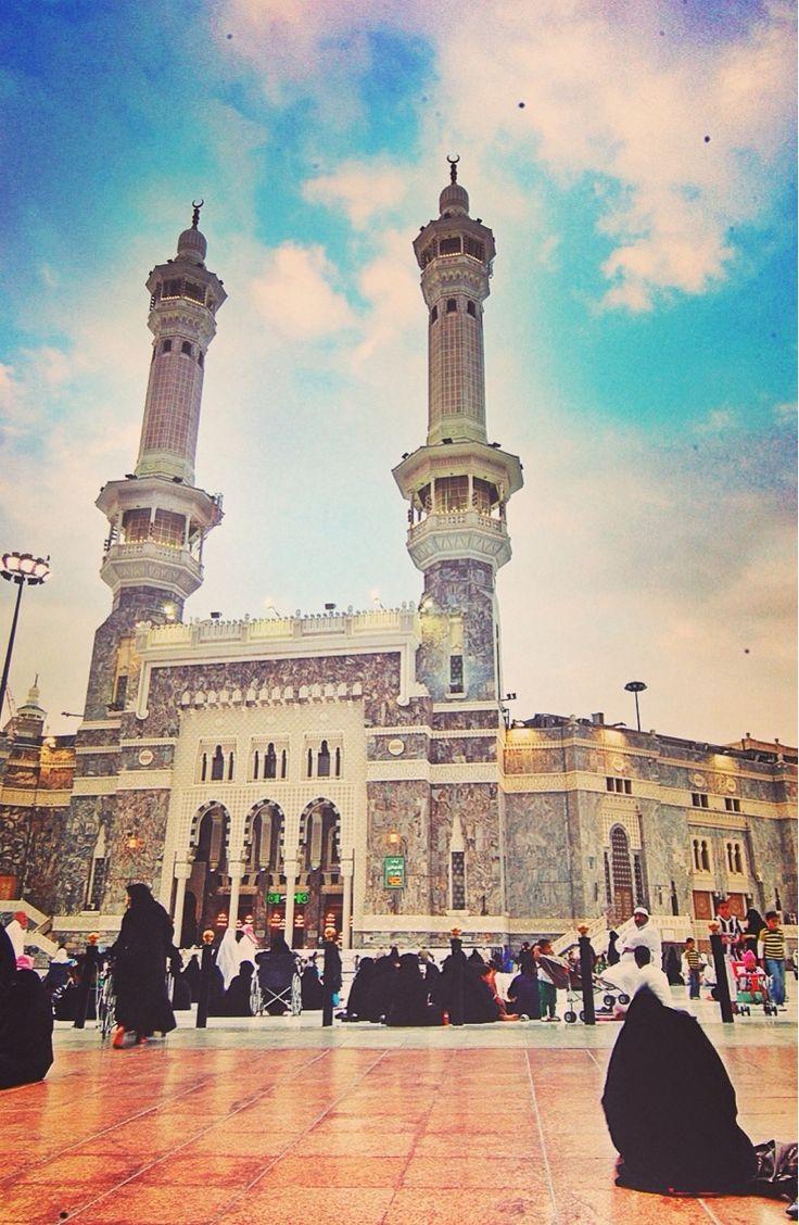 Entrance to al-Masjid al-Haram - al-Masjid al-Haram in Makkah, Saudi Arabia | IslamicArtDB.com