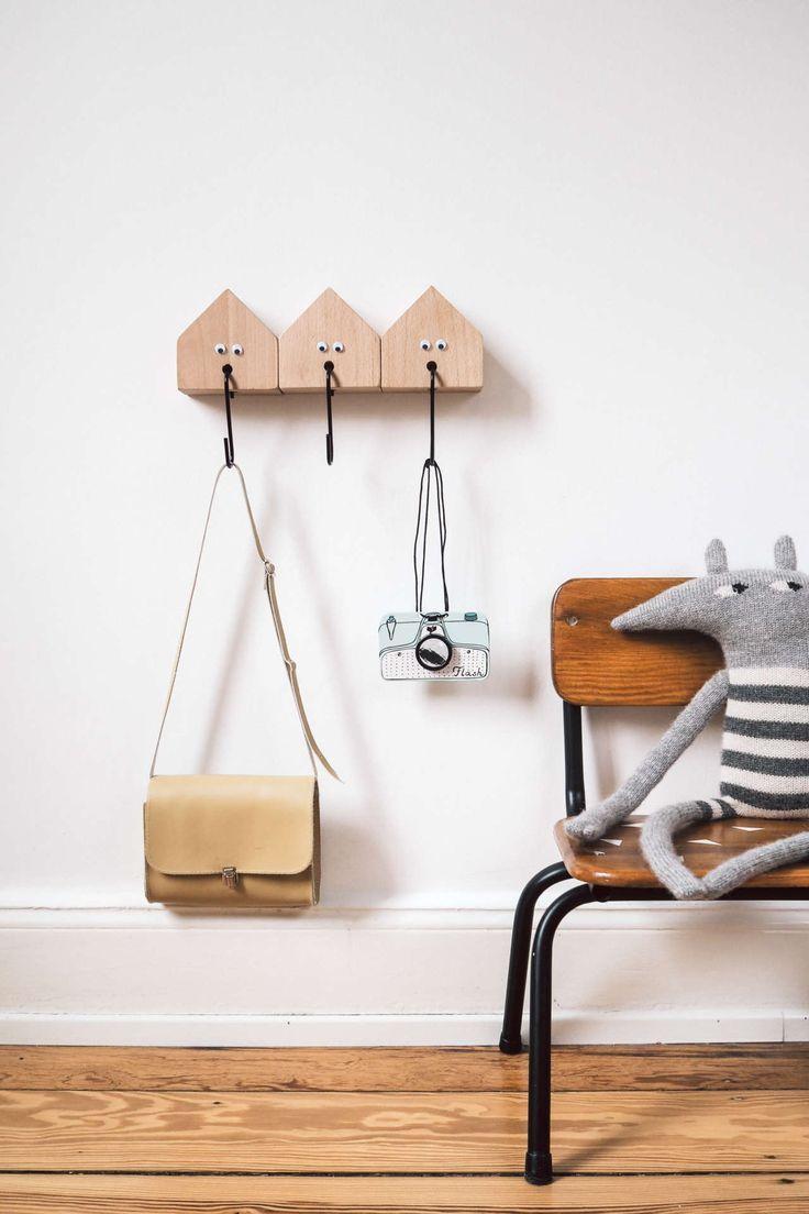Diy Kinder Garderobe Selber Bauen Holz Diy Inspiration