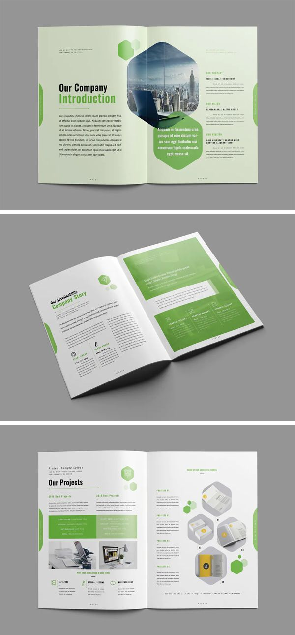 Clean and Creative Brochure Design Template
