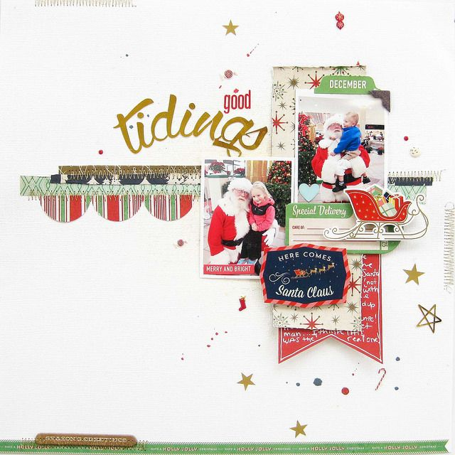 #Papercraft #Scrapbook #Layout. On the ELEVENTH day...   My Scraps & More