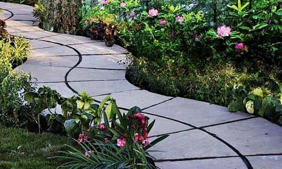 Cheap Garden Walkway Ideas Photograph Winding Walkway Ou