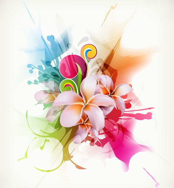 Abstract-Floral-Vector-Illustration-Artwork