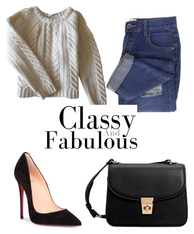 """🎧"" by isagarcia18 on Polyvore featuring moda, Anine Bing, Christian Louboutin y MANGO"