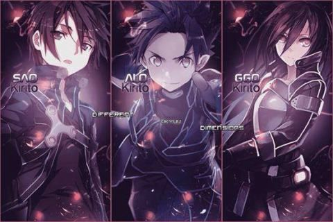 If you had the choice to play either Sword Art Online, ALfheim Online or Gun Gale Online, which game would you play? I go with SAO. ^_^