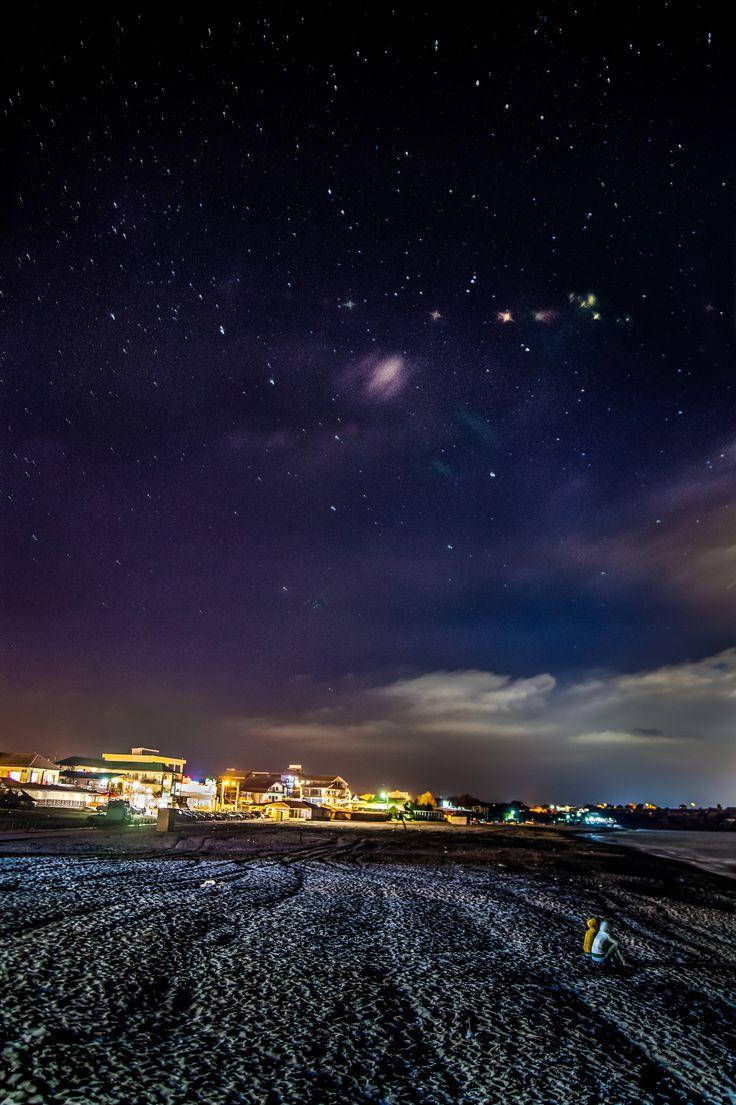 Night in Vama Veche, Romania,2015