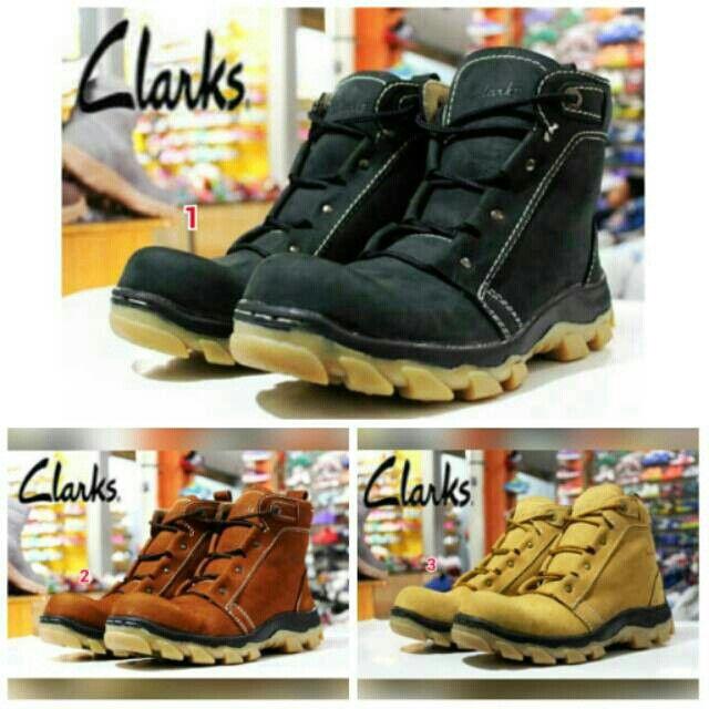 Saya menjual Sepatu CLARKS Boots Safety Pria Murah Kerja Santai Kampus Kuliah Jalan Formal Kantor Outdoor seharga Rp279.000. Pin:331E1C6F  WA/SMS: 085317847777 LINE: Sepatu Aneka Model www.butikfashionmurah.com Dapatkan produk ini hanya di Shopee! https://shopee.co.id/sepatu_dan_jam_tangan/13948955 #ShopeeID