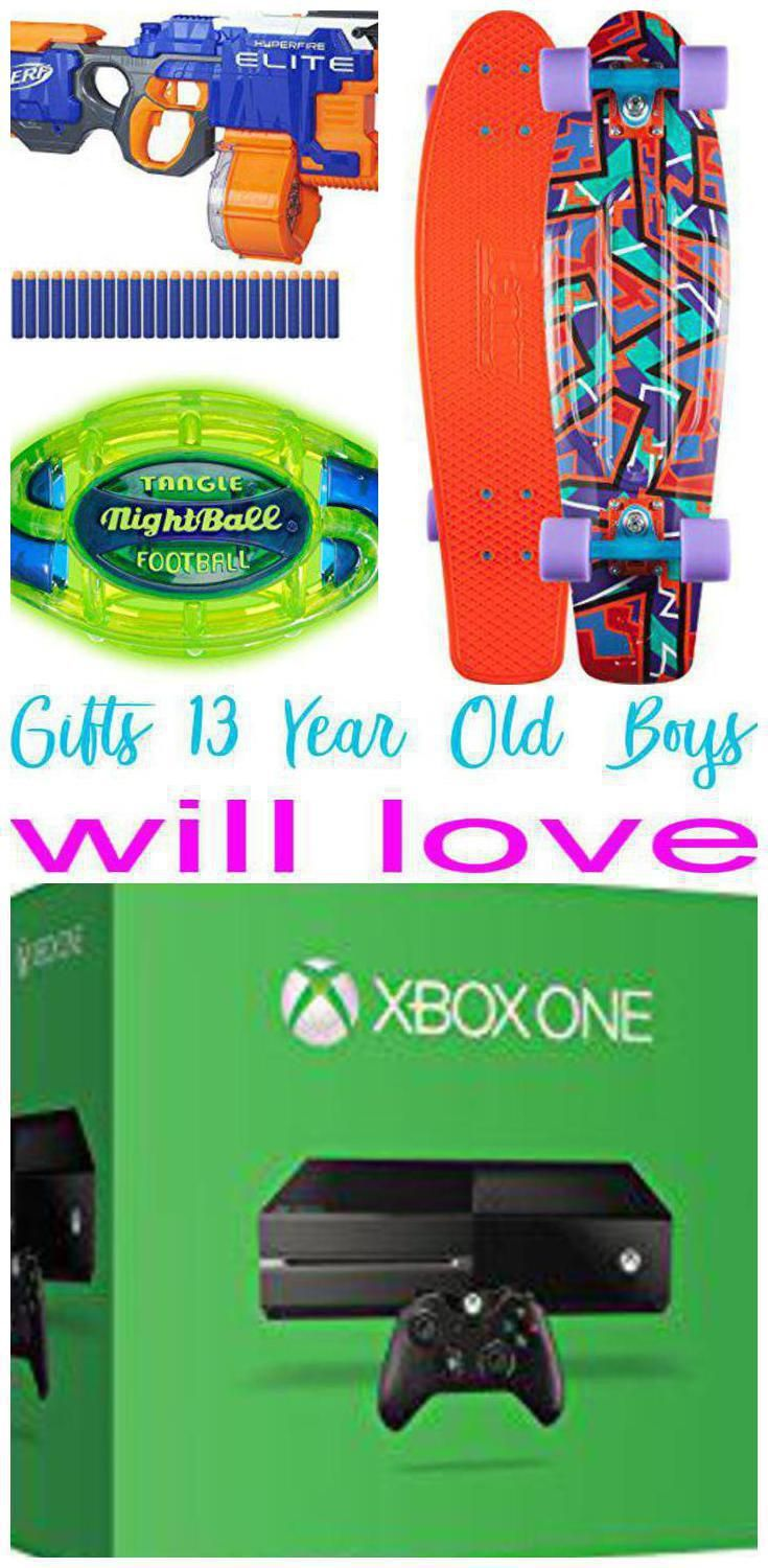 Best Gifts For 13 Year Old Boys Gift Guides Pinterest Gifts