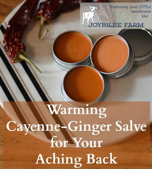 Erwärmung Cayenne Pfeffer – Ingwer – Johanniskraut Salbe für Schmerzen
