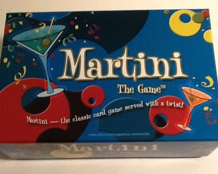 Martini The Game - Classic Card Game With A Twist - Fun Party Game!  | eBay