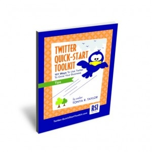 """Pin it & it could be YOURS! Pin this and win  Twitter Quick-Start Toolkit: 58 pages filled with 101 clever ideas, descriptions, resource links and sample tweets """"101 Ways To Use Twitter For Business!"""" I will pick a winner 4/30 at 3:00 pm ET! Ready... set... PIN!"""