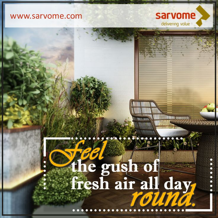Fully ventilated apartment with 86% of organized open space. www.sarvome.com #Sarvome #Homes