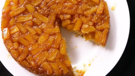 Gâteau renversé à l'ananas!