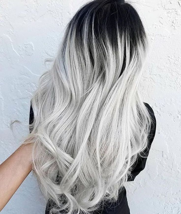 grey hair styles best 25 gray hair ombre ideas on black grey 8226