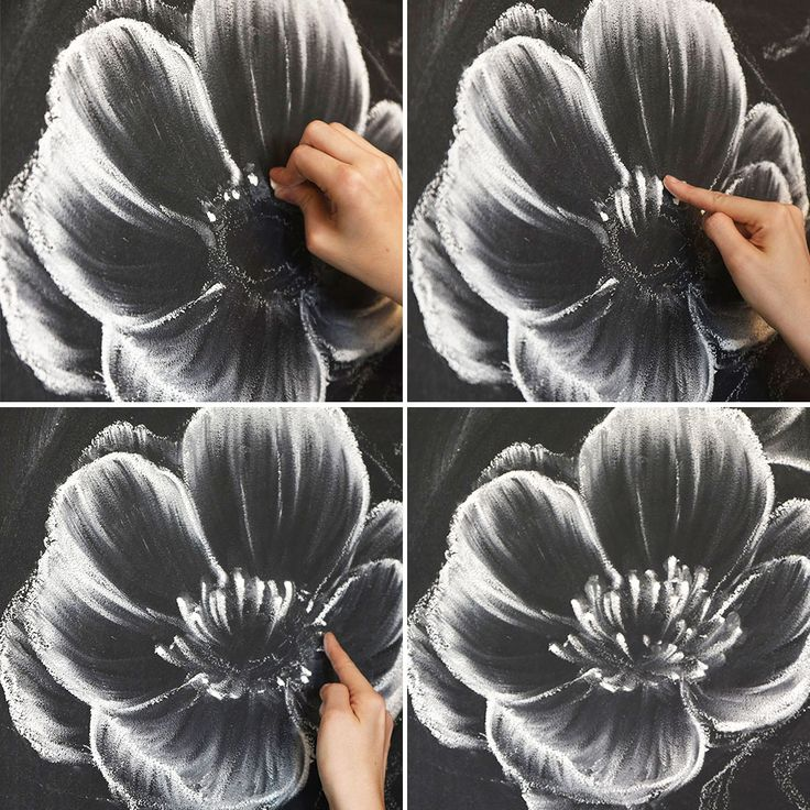 How to Create a Gorgeous Chalk Mural Like an Instagram Pro via Brit + Co.