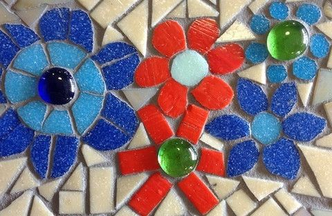 How to Make Mosaic Flowers (including patterns) | @ The Mosaic Store
