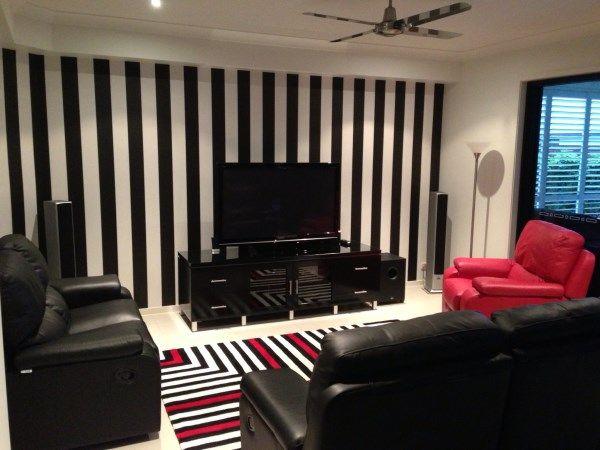 Wallpaper Brisbane Black And White Stripes Https Www Pinterest