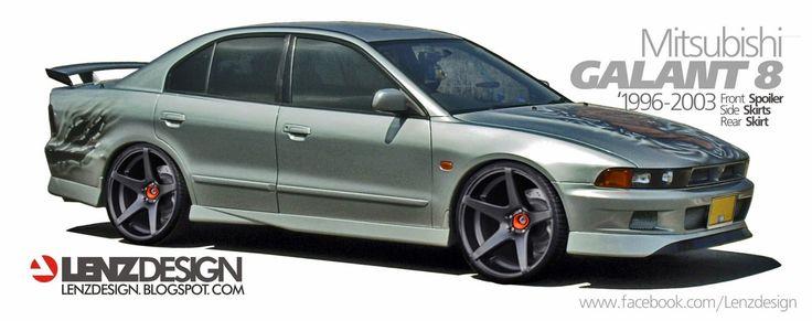 Mitsubishi Galant 8 Tuning Body Kit Lenzdesign Performance In 2020 Mitsubishi Galant Mitsubishi Cars Toyota Fj Cruiser